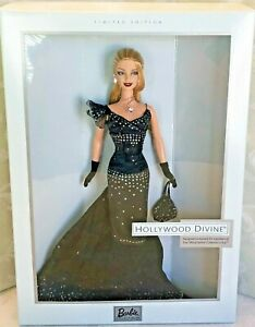 New Barbie Doll Hollywood Divine Fan Club Exclusive Glamorous Black Dress NRFB