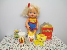 All Original, McDonald's Happy Meal All Vinyl Baby Doll & Meal by Hasbro, 1997
