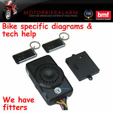 "SPY ""ALL IN ONE"" MOTORBIKE MOTORCYCLE  BIKE ALARM & IMMOBILISER + BATTERY BACKUP"