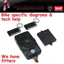 "Spy ""todo en uno"" Moto Motocicleta Moto Alarma & immobiliser + Batería De Respaldo"