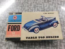 1940 Ford Custom Convertible 1/32 scale Pyro kit # C297