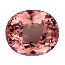 2.37Cts Shimmering Natural Pink Tourmaline Oval Shape Gemstone From Mozambique