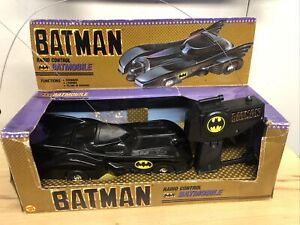 "1989 BATMAN ""RADIO CONTROL BATMOBILE"" BY (TOY BIZ)  #4429 With Box"