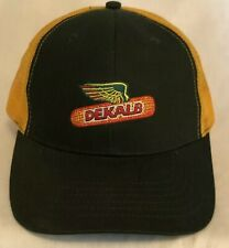 Dekalb Embroidered Mesh Truckers Hat Cap Green Yellow K Products