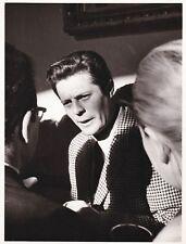 Marcello Mastroianni La Dolce Vita Federico Fellini candid Vintage Original 1960