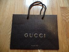 Small Gucci Couture shopping bag heavily embossed paper~9''x6 1/2''x3 1/2''
