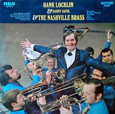 HANK LOCKLIN & DANNY DAVIS & NASHVILLE BRASS - RCA LBL - 1970 LP - STILL SEALED