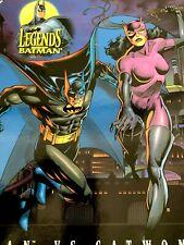 "Kenner Legends of Batman-Batman vs Catwoman 12"" Doll Set NIB Free Shipping"