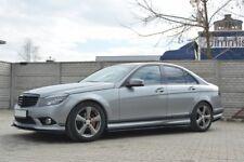 Lato gonne add-on Diffusori Mercedes C W204 AMG-Line (prefazione) (2007-2010)