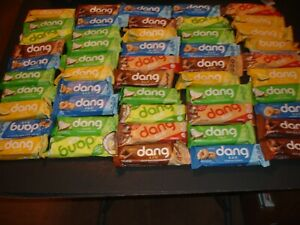 50 KETO DANG ENERGY BARS NEW SEALED READ COMMENTS