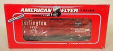 American Flyer #6-48478 Nasg1992 Commemorative Burlington Box Car-New In Box!