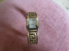 Ladies Quartz Movement Gold Tone Watch, Inner Diameter/Wrist Size 16 cm