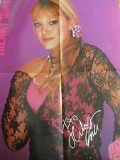 Hilary Duff, No Secrets, Double Four Page Foldout Poster