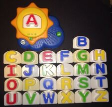 LeapFrog FRIDGE PHONICS 2007 Sun Alphabet Refrigerator Learning Magnet Toy 20305