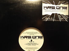 """KRS-ONE - GET YOUR SELF UP (+PETE ROCK REMIX) (12"""")  2000!!!  RARE!!!"""