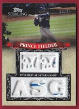 PRINCE FIELDER 2009 TOPPS STERLING CAREER CHRONICLES ALL-STAR JERSEY #23/25