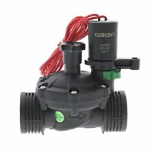 """Galcon 24 VAC Electric Sprinkler Valve w/Flow Control-Size:1"""" FPT"""
