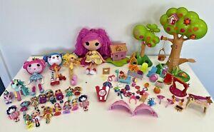 Lalaloopsy Bundle Huge Job Lot Tree Houses Big Mini Dolls Mixed Toys Playset