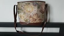 Vintage C&A tapestry style bucket bag
