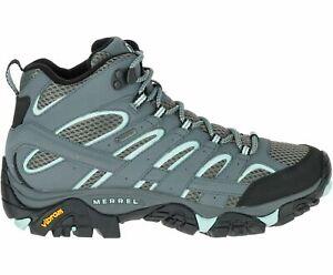 Merrell Women's Moab 2 Mid GTX Hiking Boots - Sedona Sage (J06060) - Size 8