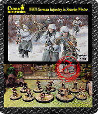 Caesar Miniatures 1/72 Infantería Alemana usando Invierno moverse (la segunda guerra mundial) # 083