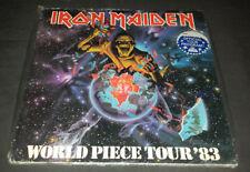 Iron Maiden:1983 World Piece Tour Book/Program***NEW Sealed***