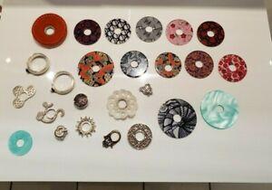 Silberwerk Ring Ding 25teiliges Set Silber Gr.51 und 55 Top Zustand