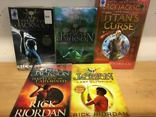Percy Jackson and the Olympians (Rick Riordan): collection of 5 children's books