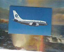 VARIG Brazil airlines issued Boeing 737-200  postcard