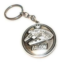 STAR WARS Millennium Falcon Convention metal Keychain collectible cosplay force