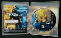 The Bourne Conspiracy Sony Game MINT Disc PS3 Complete CIB VERY Fast Ship World!
