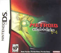 Metroid Prime: Hunters First Hunt Nintendo DS Kids Game Only