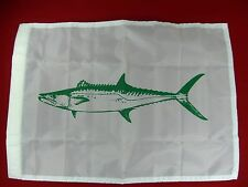 KINGFISH FLAG  CATCH RELEASE 18 x 12 NYLON  OUTRIGGER FLAG  C & H LURES