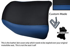 ROYAL BLUE AND BLACK CUSTOM FITS BMW R 1150 GS REAR PILLION REAL SEAT COVER