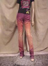 $3360 New JOHN GALLIANO Tie Dye Suede Lambskin Leather Silk Lined Pants 44 10