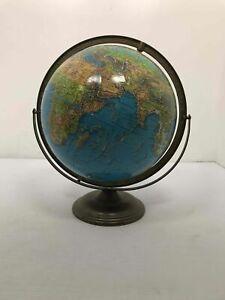 Vintage Table Desk World Globe
