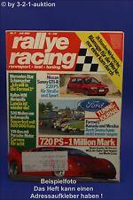 Rallye Racing 7/91 MCA Nissan Sunny GTI-R VW Bus