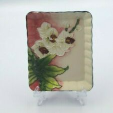 Old Tupton Ware Rectangle Decorative Plate and Stand (TW6914)