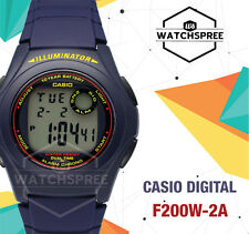 Casio Digital Watch F200W-2A