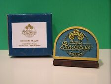 Thomas Blackshear Circle Members Plaque 2001 New in Box Ebony Visions Willitts