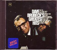 DAVE BRUBECK – Greatest Hits (Columbia/Legacy #CK 65417, USA - 1997)
