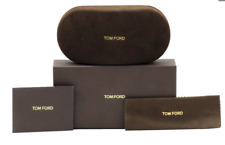 TOM FORD Glasses / Sunglasses Case / Box / Certificate / Sealed Cloth BRAND NEW