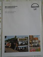 MAN Commercial Vehicles brochure c 1991
