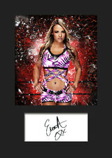 EMMA #1 (WWE) Signed Photo A5 Mounted Print - FREE DELIVERY