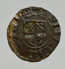 FIANDRE - VLAANDEREN - FILIPPO DE STOUTE 1384-1404 - 2 DENIER