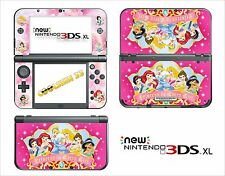 SKIN STICKER AUTOCOLLANT - NINTENDO NEW 3DS XL - REF 110 PRINCESSE DISNEY