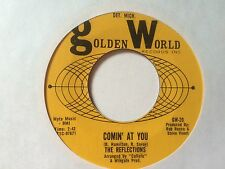 """THE REFLECTIONS: """"COMIN' AT YOU"""" b/w """"POOR MAN'S SON"""" on USA GOLDEN WORLD"""