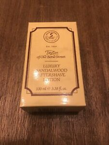 Taylor of Old Bond Street Sandalwood Aftershave Lotion 100ml. Facial Moisturizer