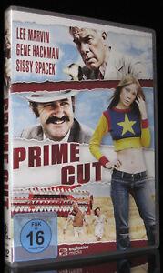 DVD PRIME CUT - DIE PROFESSIONALS - GENE HACKMAN + LEE MARVIN + SISSY SPACEK NEU