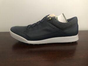 ECCO Street Retro Hybrid Men's Size 11-11.5 (EU 45) Golf Shoes Marine Blue